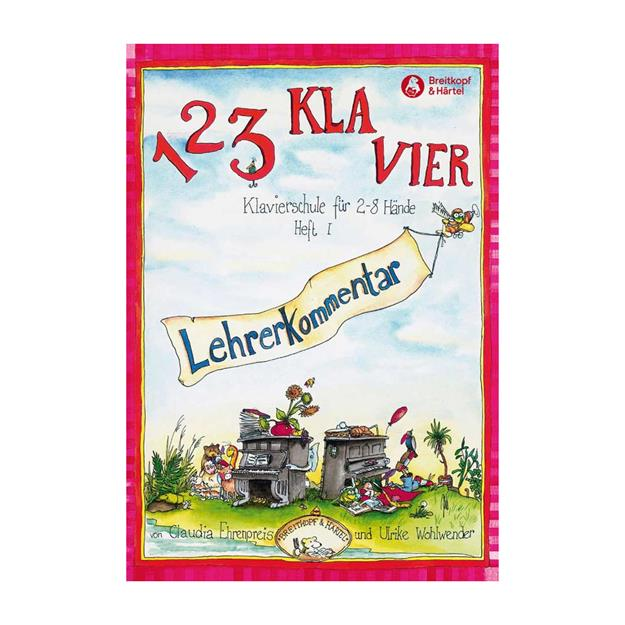 Breitkopf Verlag 1 2 3 Klavier Heft 1