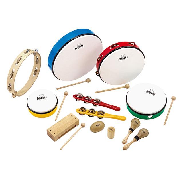 Meinl Nino SET012 Rhythm Percussion Set 12-teilig