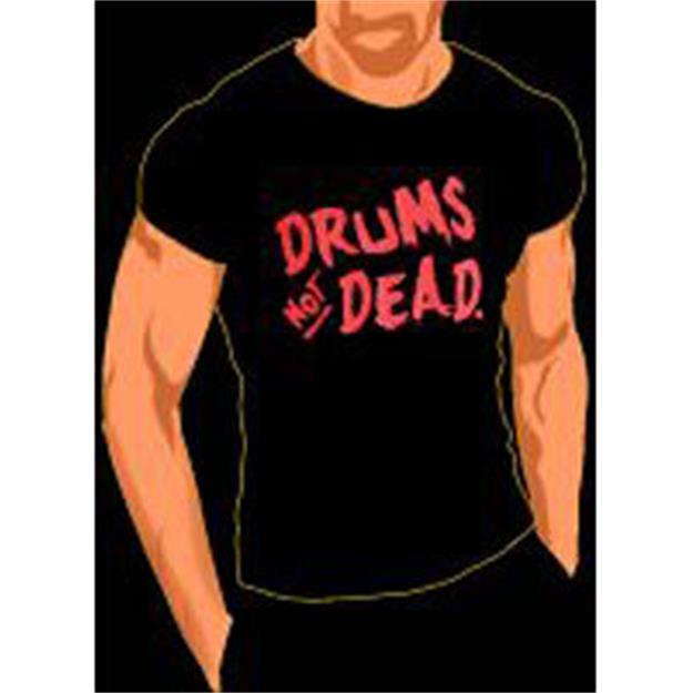 Groove & Wear T-Shirt Drums not Dead