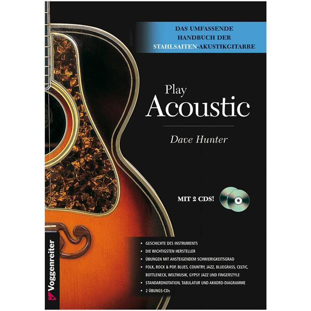 Voggenreiter Play Acoustic mit 2CDs