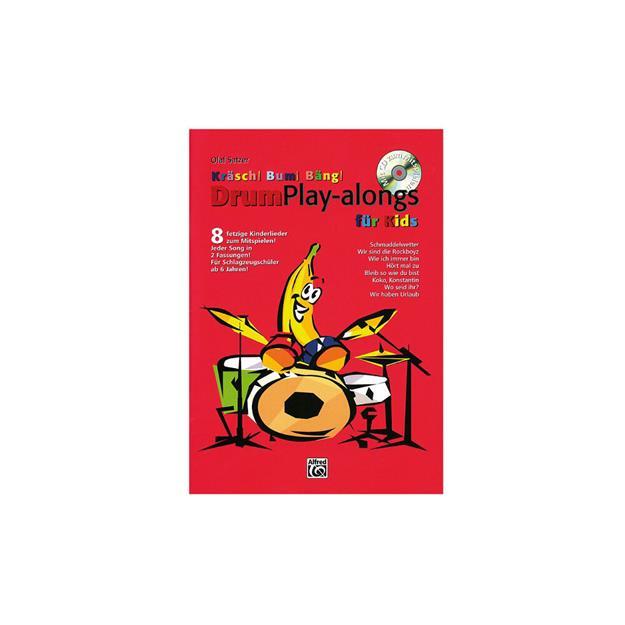 Alfred Publishing Kräsch Bum Bäng Playalong mit CD