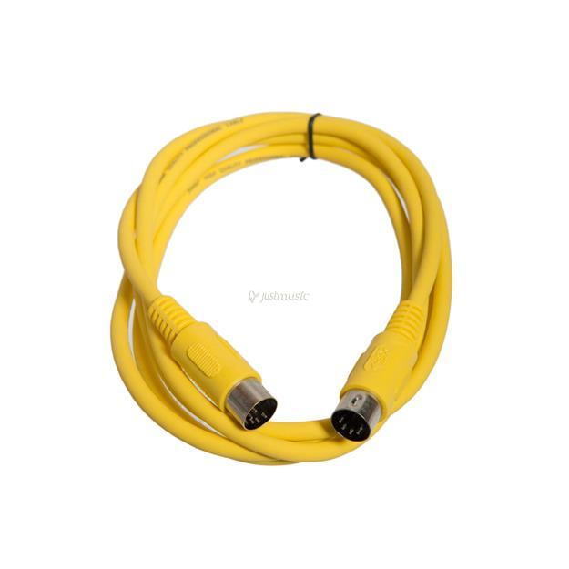 Justin MIDI-Kabel STD 2m gelb