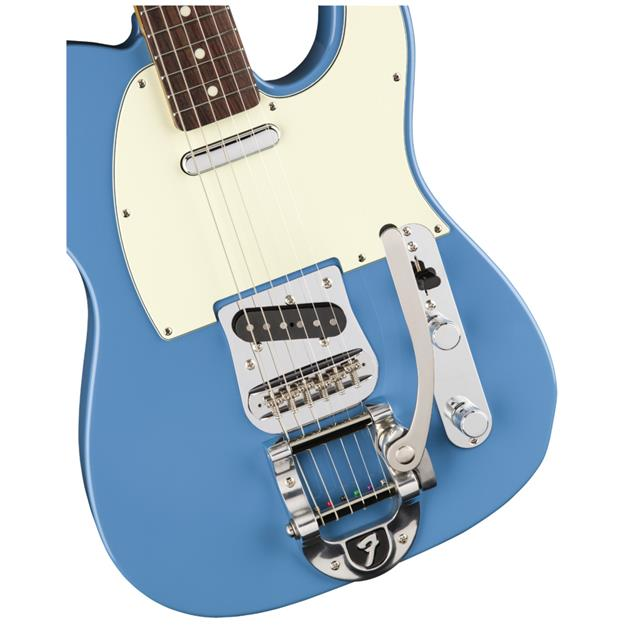Fender Limited Edition Made in Japan Traditional 60s Telecaster Bigsby, RW Candy Blue