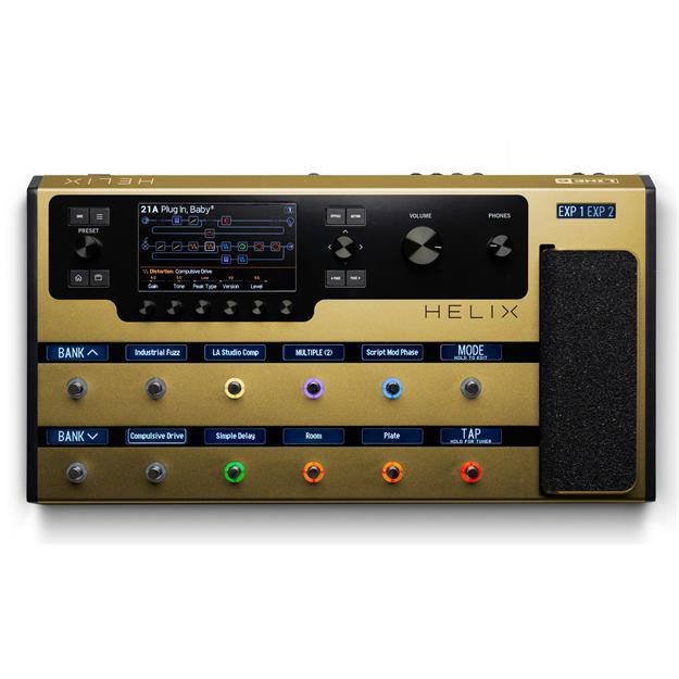 Line 6 Helix Gold Floorboard