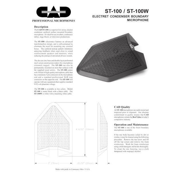 CAD ST100
