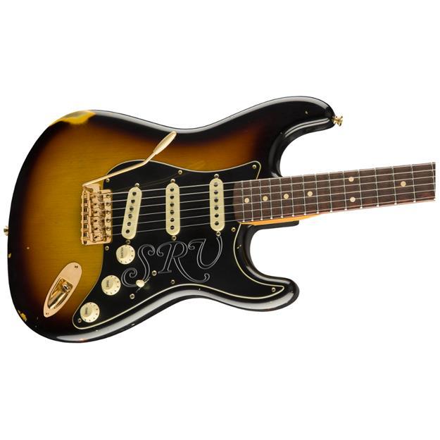 Fender Stevie Ray Vaughan Signature Stratocaster Relic, RW Three Color Sunburst