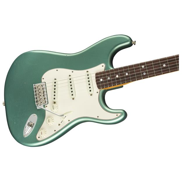 Fender 1965 Stratocaster Journeyman Relic, RW Aged Teal Green Metallic
