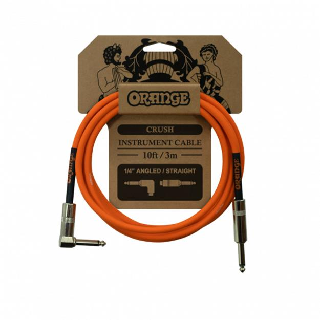 Orange Crush Instrument Cable, 3m