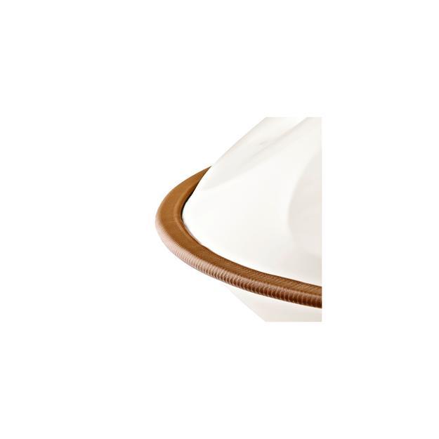 """Meinl Sonic Energy Harmonic Art Handpan """"Natural D"""" White Jade HD1-WJ"""