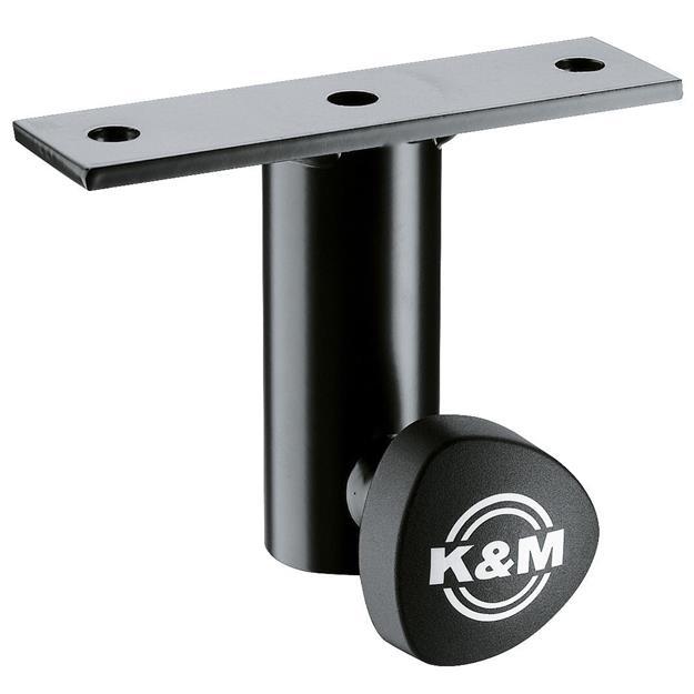 K + M König & Meyer 24281 Anschraubflansch schwarz
