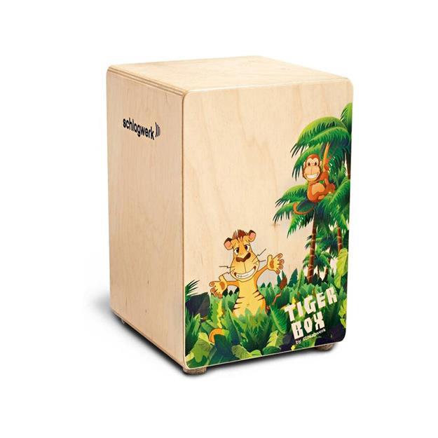 Schlagwerk Tiger Box Kids Cajon