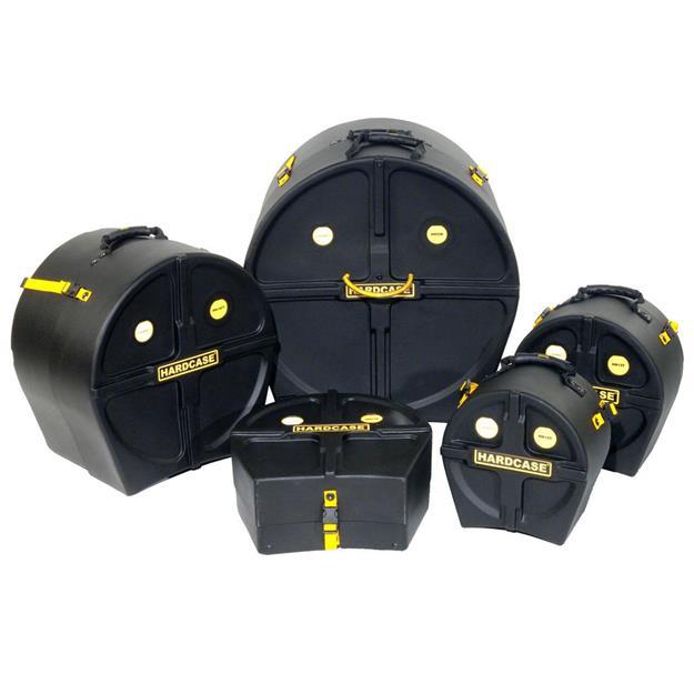 Hardcase Drum Case Rock Fusion 3 Set