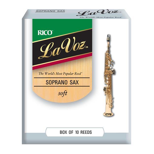 D'addario Woodwinds soft Sopransaxophon