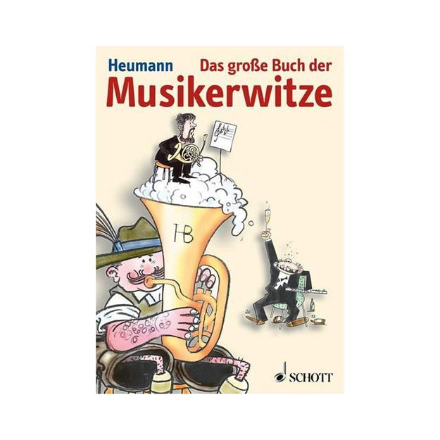 Schott Verlag Das große Buch der Musikerwitze