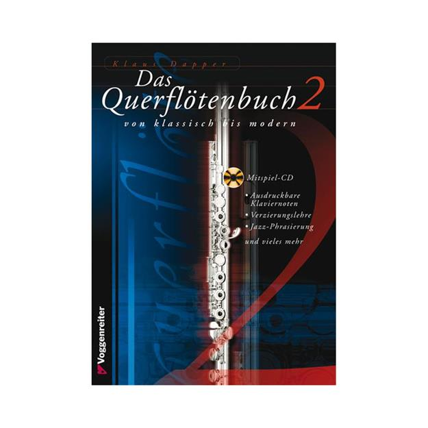 Voggenreiter Das Querflötenbuch 2 mit CD