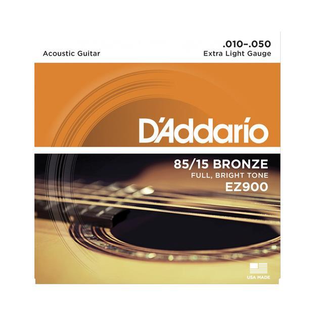 D'addario EZ900 Extra Light American-Bronze