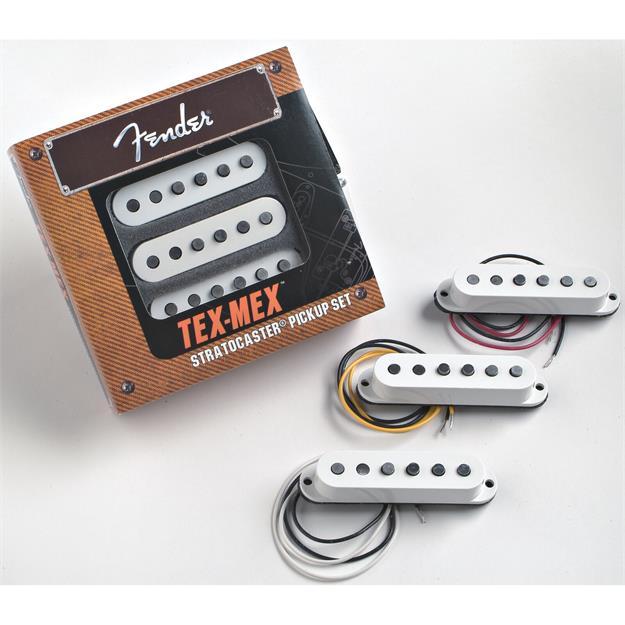 Fender Strat Pickups Tex Mex 3er Set