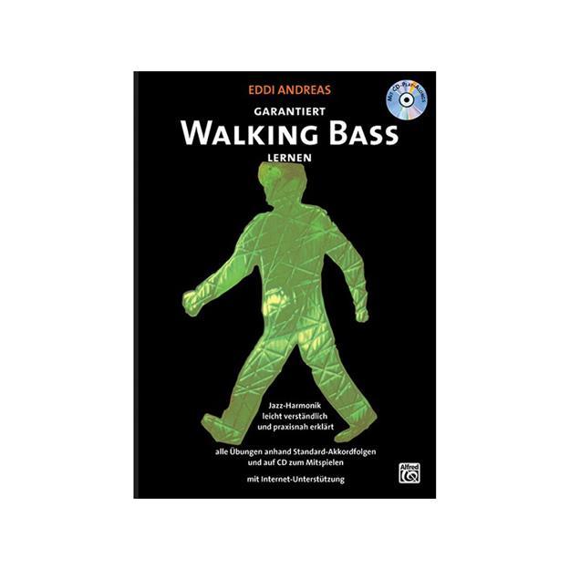 Alfred Publishing Garantiert Walking Bass lernen mit CD