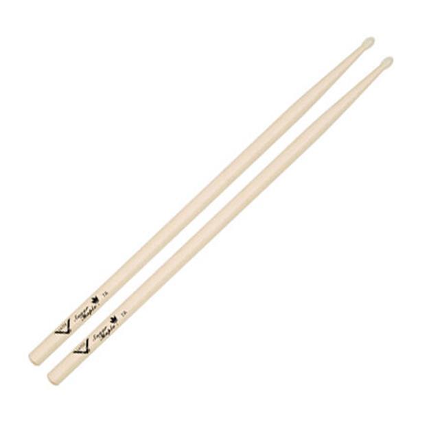 Vater 7A Drumsticks - Sugar Maple  - Nylon Tip