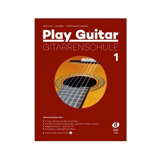 DUX Play Guitar Gitarrenschule 1