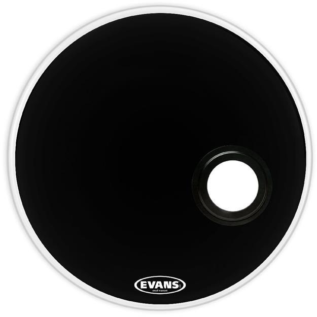 Evans EMAD Resonant Black 22''  - Bassdrum-Reso