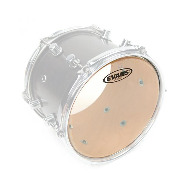 Evans G2 6'' Clear - Tomfell - 2-lagig