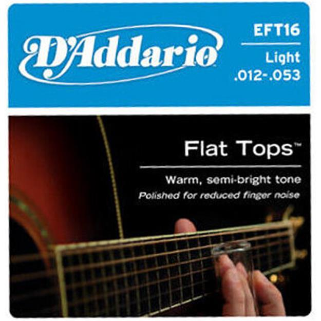 D'addario EFT16 Flat Top Light