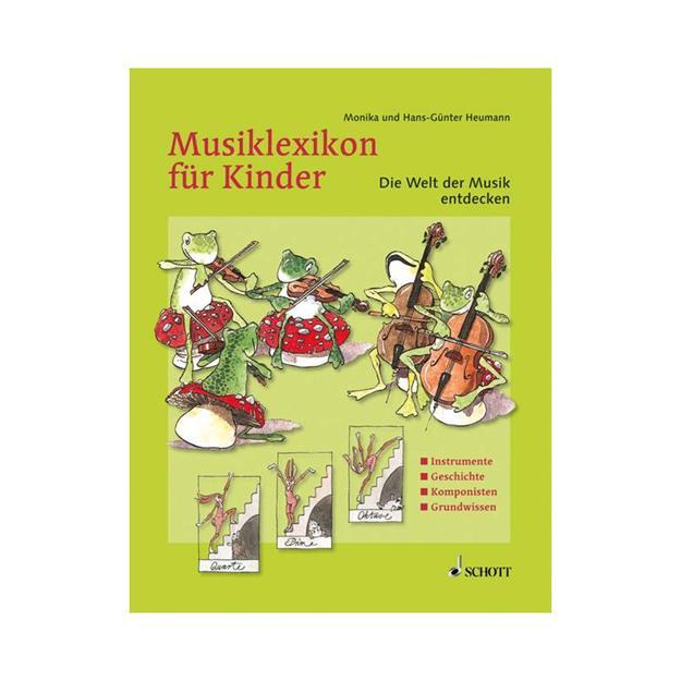Schott Verlag Musiklexikon für Kinder