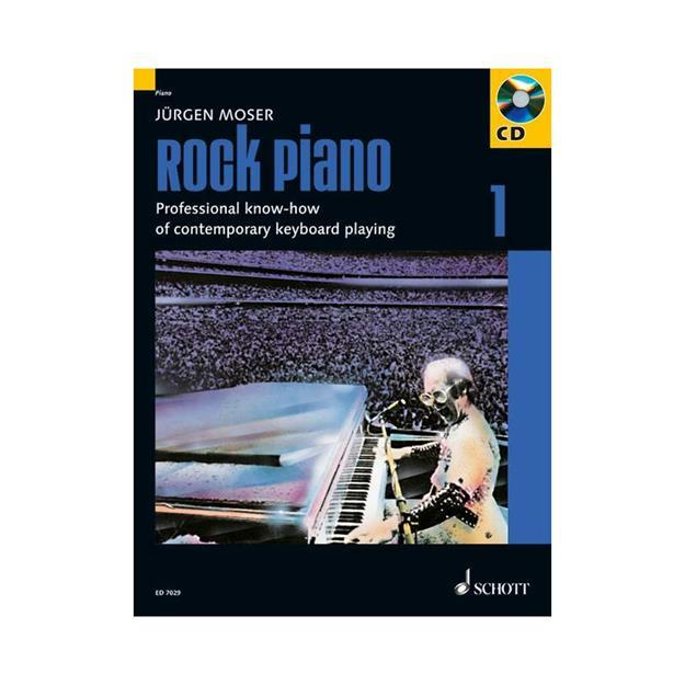 Schott Verlag Rock Piano 1 mit CD