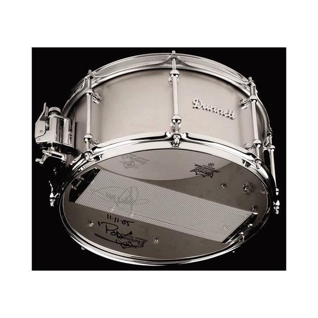 """Dunnett Classic Titanium 14""""x 7"""" Snaredrum"""