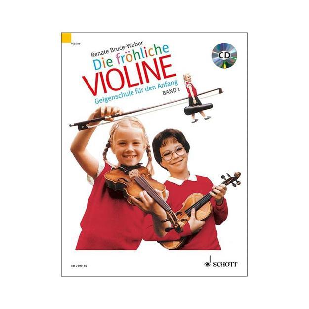 Schott Verlag Die Fröhliche Violine Band 1 mit CD