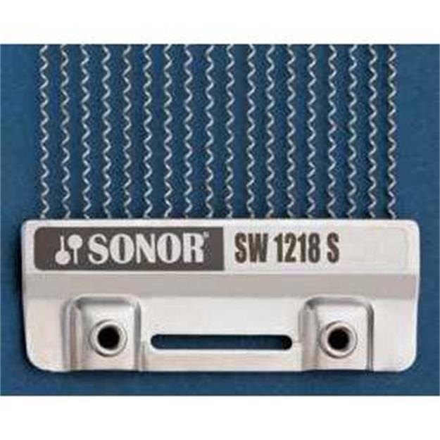 """Sonor Snare Drum Teppich 12/"""" auf 18 Stahl Spiralen Vintage SW 1218S Snareteppich"""