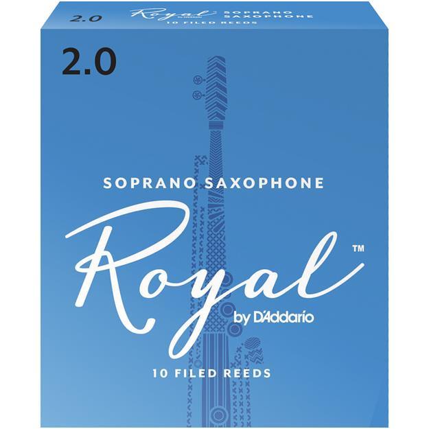 D'addario Woodwinds Royal 2,0 Sopransaxophon