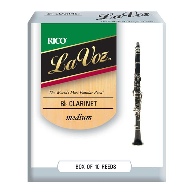 D'addario Woodwinds La Voz Medium Bb- Klarinette