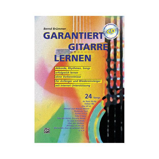 Alfred Publishing Garantiert Gitarre Lernen mit CD