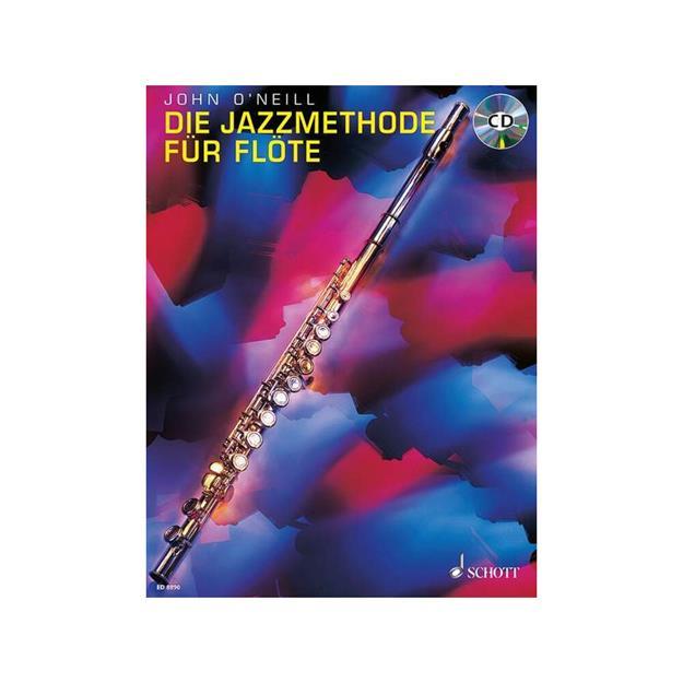 Schott Verlag Jazzmethode für Flöte mit CD