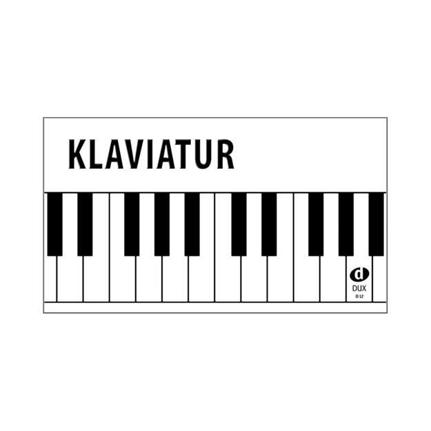 DUX Klaviatur von A'' bis a''