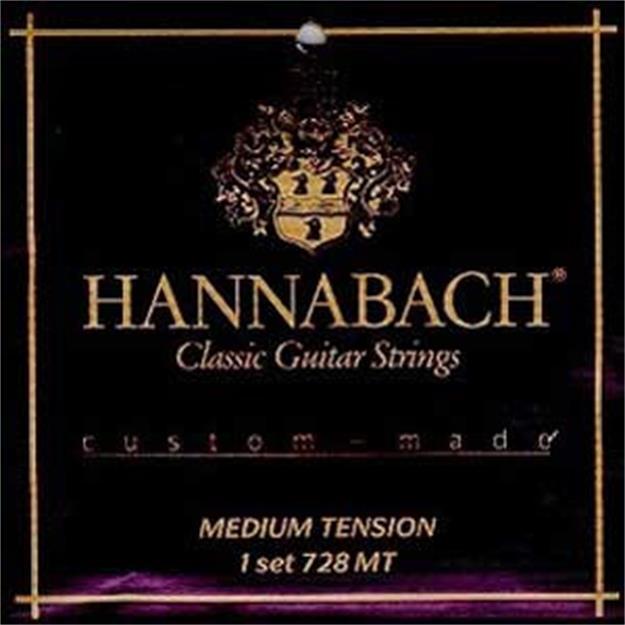 Hannabach Custom Made 728 Medium Tension