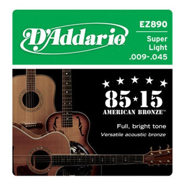 D'addario EZ890 Super Light American-Bronze