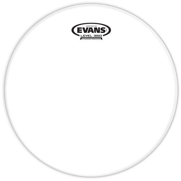 Evans Hazy 300 - 14'' Snare Resonanzfell - 1-lagig