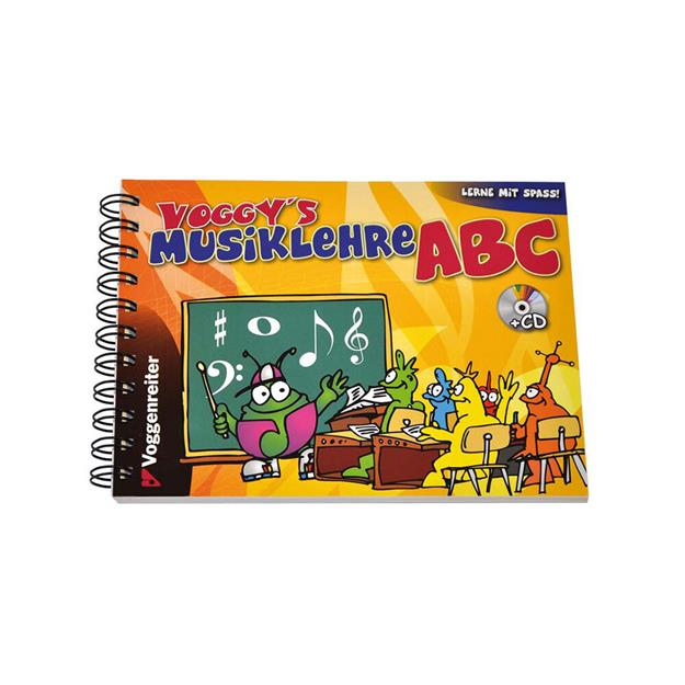 Voggenreiter Voggy's Musiklehre ABC mit CD