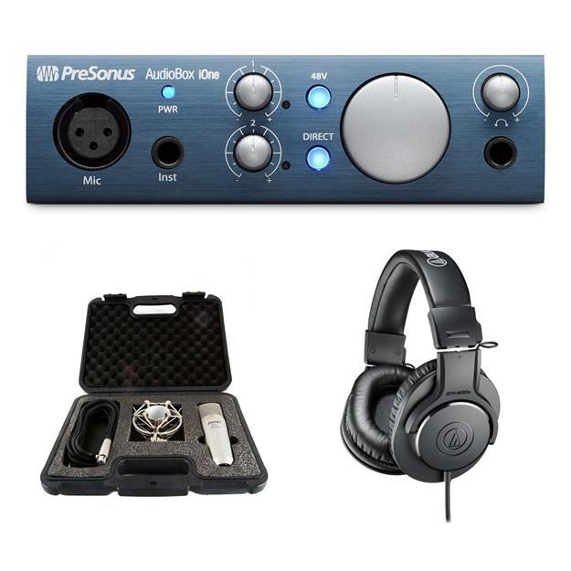 Presonus AudioBox iOne Bundle