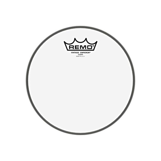 """Remo Emperor Vintage 8"""" - Clear - Tomfell"""