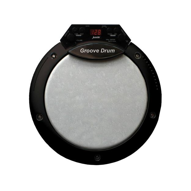Justin Groove Drum Percussion Pad 8""