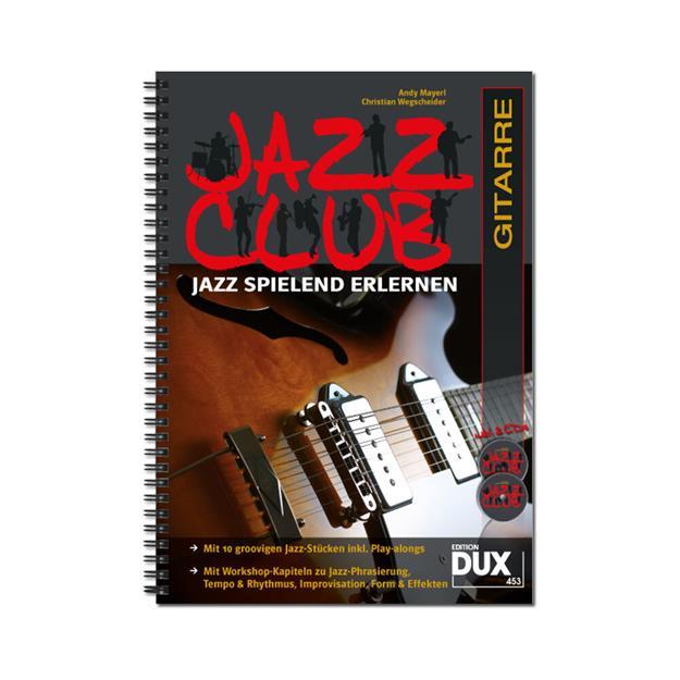 DUX Jazz Club mit 2 CDs für Gitarre