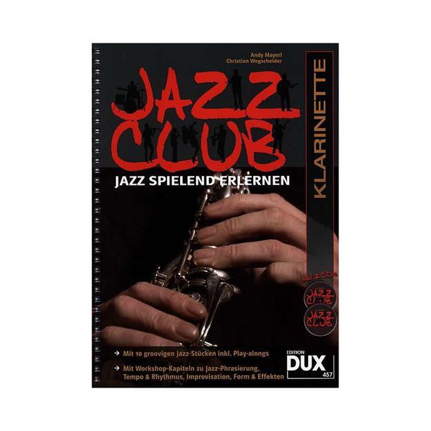 DUX Jazz Club mit 2 CDs für Klarinette