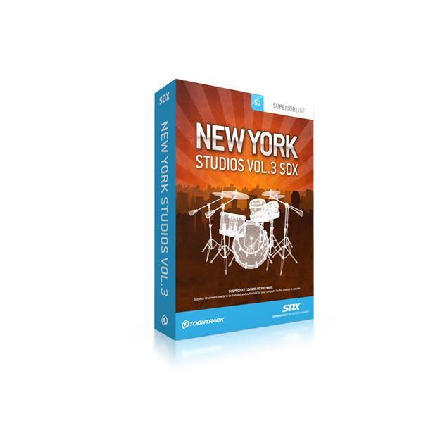 Toontrack SDX New York Studios Vol. 3 Lizenzcode