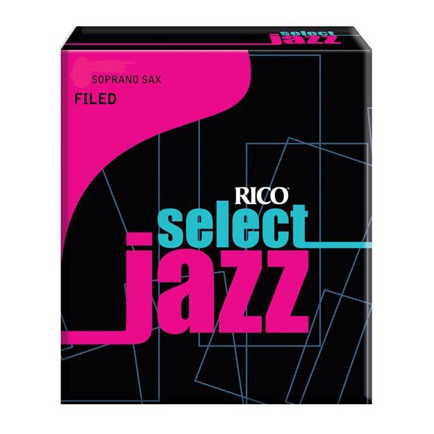 D'addario Woodwinds Select Jazz 3M Sopransaxophon