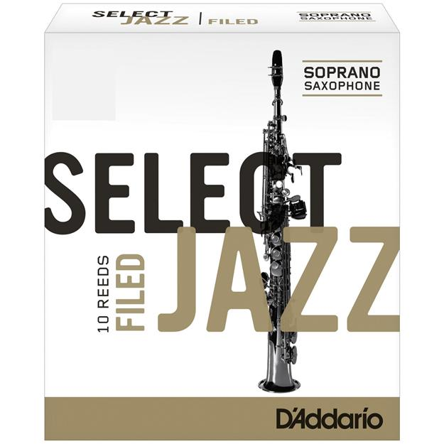 D'addario Woodwinds Select Jazz 3H Sopransaxophon