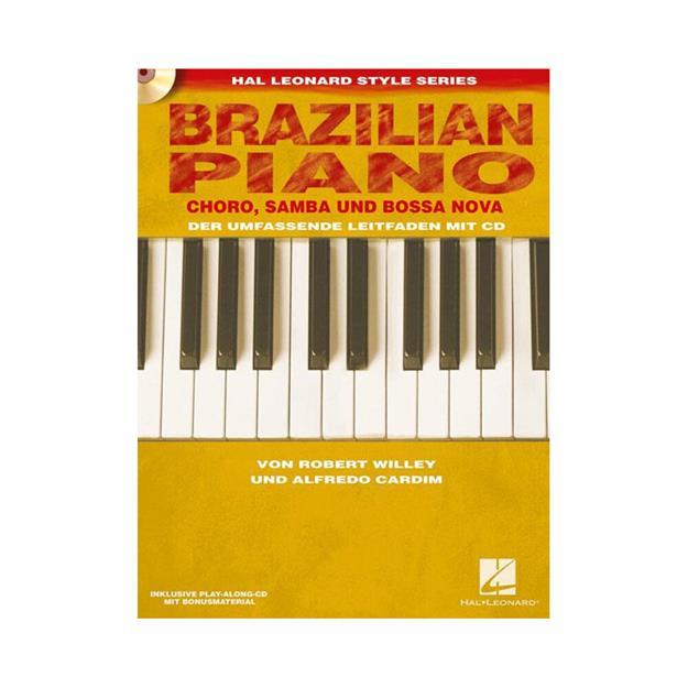 Hal Leonard Brazilian Piano mit CD